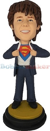 Superman Revealed bobblehead Doll