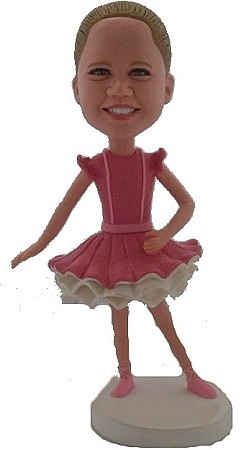 Custom Bobble Head | Ballerina With Tutu Female Bobblehead | Gift Ideas For Women