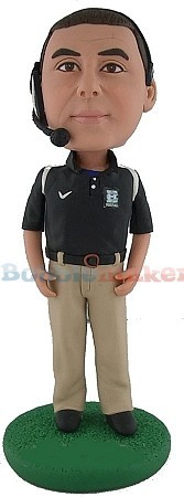 Male NFL Coach bobblehead Doll