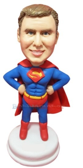 The Man of Steel Bobblehead Doll